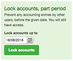 lock accounts